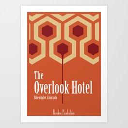 The Overlook Hotel Art Print