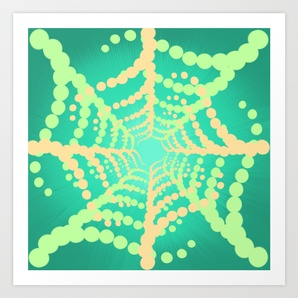 Modulare 1 - Into The Web Art Print by Tibiarts6 PRN9049005