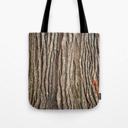 Wood bark Tote Bag