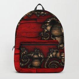 Bronze Walled Fractal Backpack