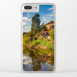 The Iron Bridge Clear iPhone Case