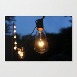Late Night Lights Canvas Print