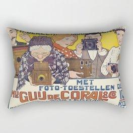 Everyone is a Photographer Poster, 1901 Rectangular Pillow