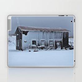 Snow Caked Barn Laptop & iPad Skin