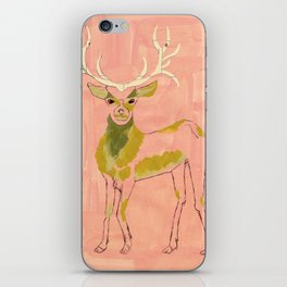 Come my deer, let me love you iPhone Skin
