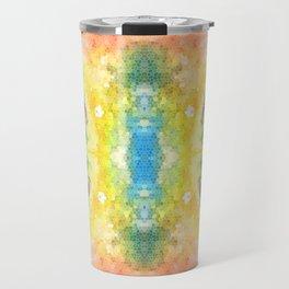 Watercolour Mosaic Travel Mug