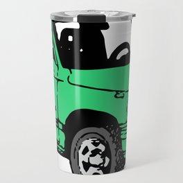 Retro 80s Truck / SUV Travel Mug