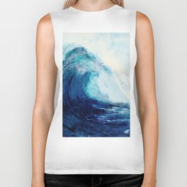 Waves II Biker Tank