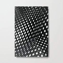 perforation Metal Print