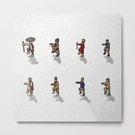 Many peoples in one direction Metal Print