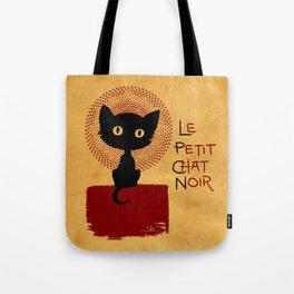 Le Petit Chat Noir Tote Bag