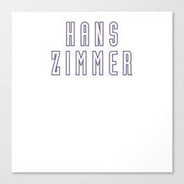 Hans Zimmer 2017 Canvas Print