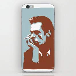 Vodka Melancholy Nick Cave iPhone Skin