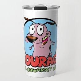 Courage the Cowardly Dog Travel Mug