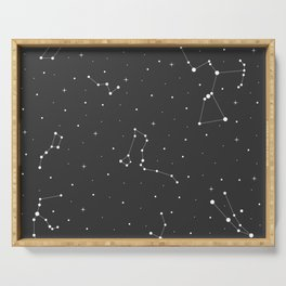 The Night Sky Serving Tray