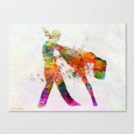dancing queen 3 Canvas Print