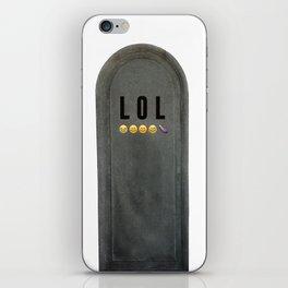 LOL Tomb iPhone Skin