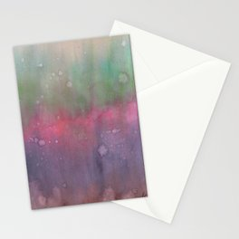 Fading Colors Stationery Cards