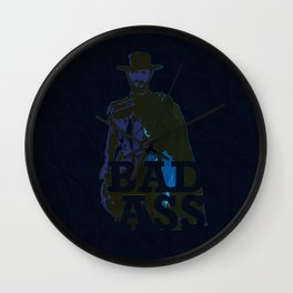 """""""The Man With No Name"""" is a Badass Wall Clock"""