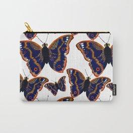 Purple Emperor Butterflies Carry-All Pouch