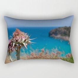 CretanThistle And Sea Rectangular Pillow