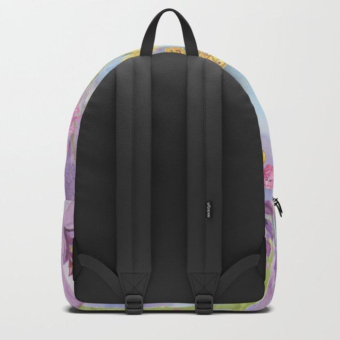 Macro Flower #19 Backpack