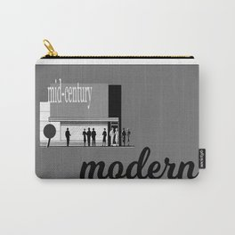 Mid Century Life Carry-All Pouch