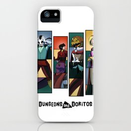 """These Boots Were Made For Swappin'"" - Dungeons & Doritos iPhone Case"
