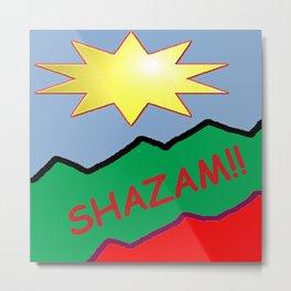 Shazam!! Metal Print