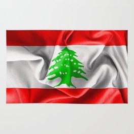 Lebanon Flag Rug
