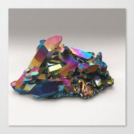Titanium Rainbow Aura Quartz 1 Canvas Print