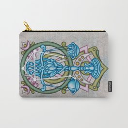 Libra Scales Constellation Carry-All Pouch