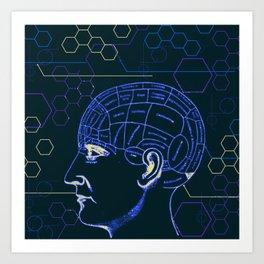 Brainstation Art Print
