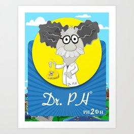 Dr. PH Art Print