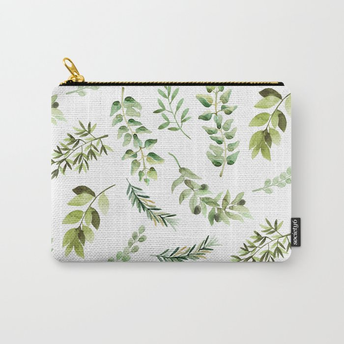 Forest in the Fall Carry-All Pouch