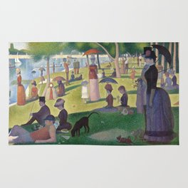 Georges Seurat - A Sunday Afternoon on the Island of La Grande Jatte Rug