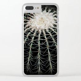 Carinate Cacti I Clear iPhone Case