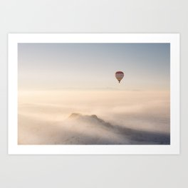 Hot-Air Balloon I Art Print