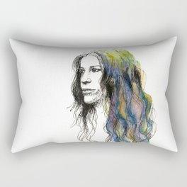Head Over Feet Rectangular Pillow