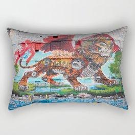 Detroit Chimera ( kī-ˈmir-ə ) Rectangular Pillow
