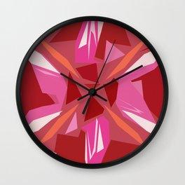 Abstract Rubi Wall Clock