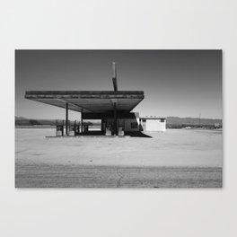 Modern Gas Desert Lands Canvas Print