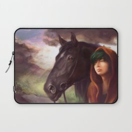 A Boy and His Horse Laptop Sleeve