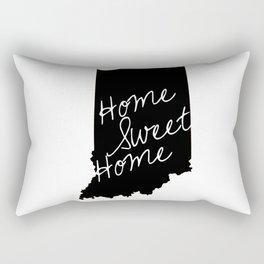 Indiana Home Sweet Home Rectangular Pillow