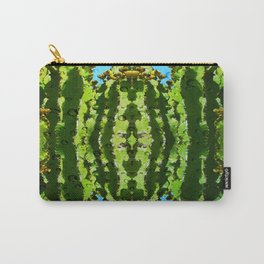 Raindrop Cacti Reflections Carry-All Pouch