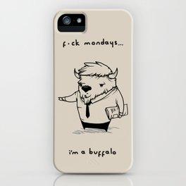 I'm a buffalo iPhone Case