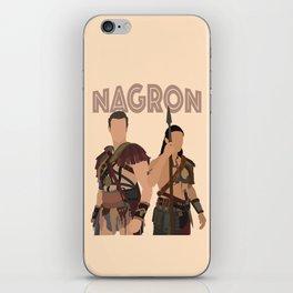 Nagron (Spartacus) iPhone Skin
