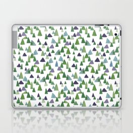 Abstract Watercolor Forest Laptop & iPad Skin