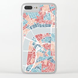 London map Clear iPhone Case