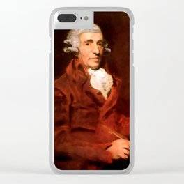 Franz Joseph Haydn (1732-1809) by John Hoppner in 1791 Clear iPhone Case